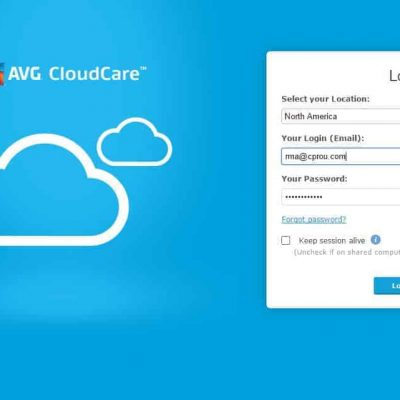 AVG Cloudcare Web interface Part 3