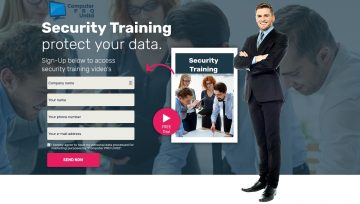 Sign-Up For Our Cyber Security Training Video's