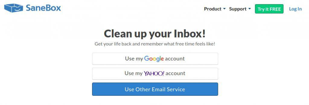 Sane Box Email