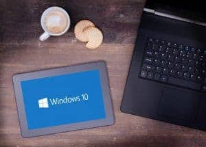 Windows 10 Spring Creator Update Tablet and Laptop