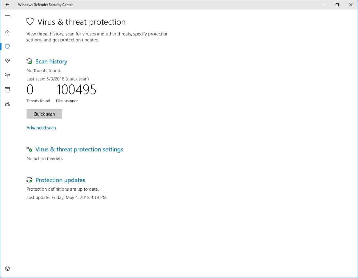Is Windows Defender Good Enough?