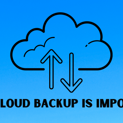 Why Cloud Backup is Important