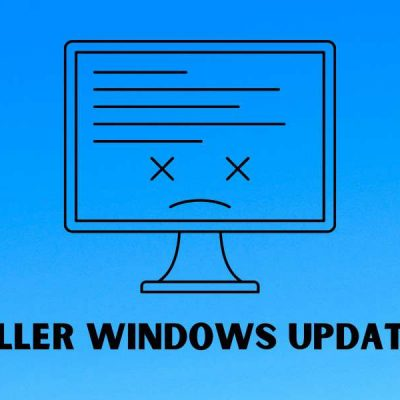 Microsoft Killer Windows Update: KB5000802