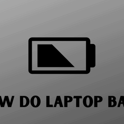 Checking Your Laptop Battery Health: A How To