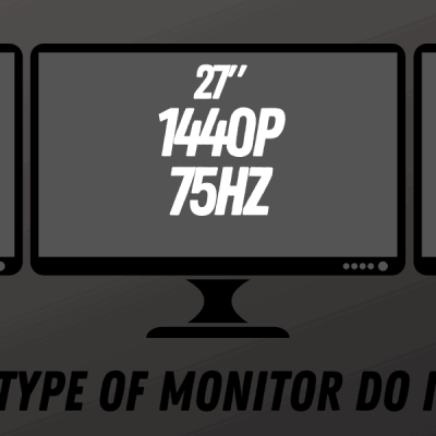 What Type of Monitor do I Need?