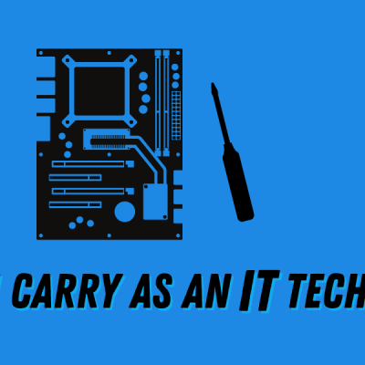 Tools I Use as an IT Tech