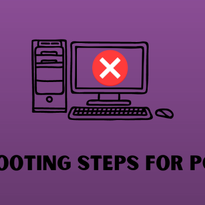 Troubleshooting Steps for PC Problems