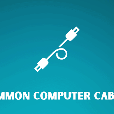Common Computer Cables